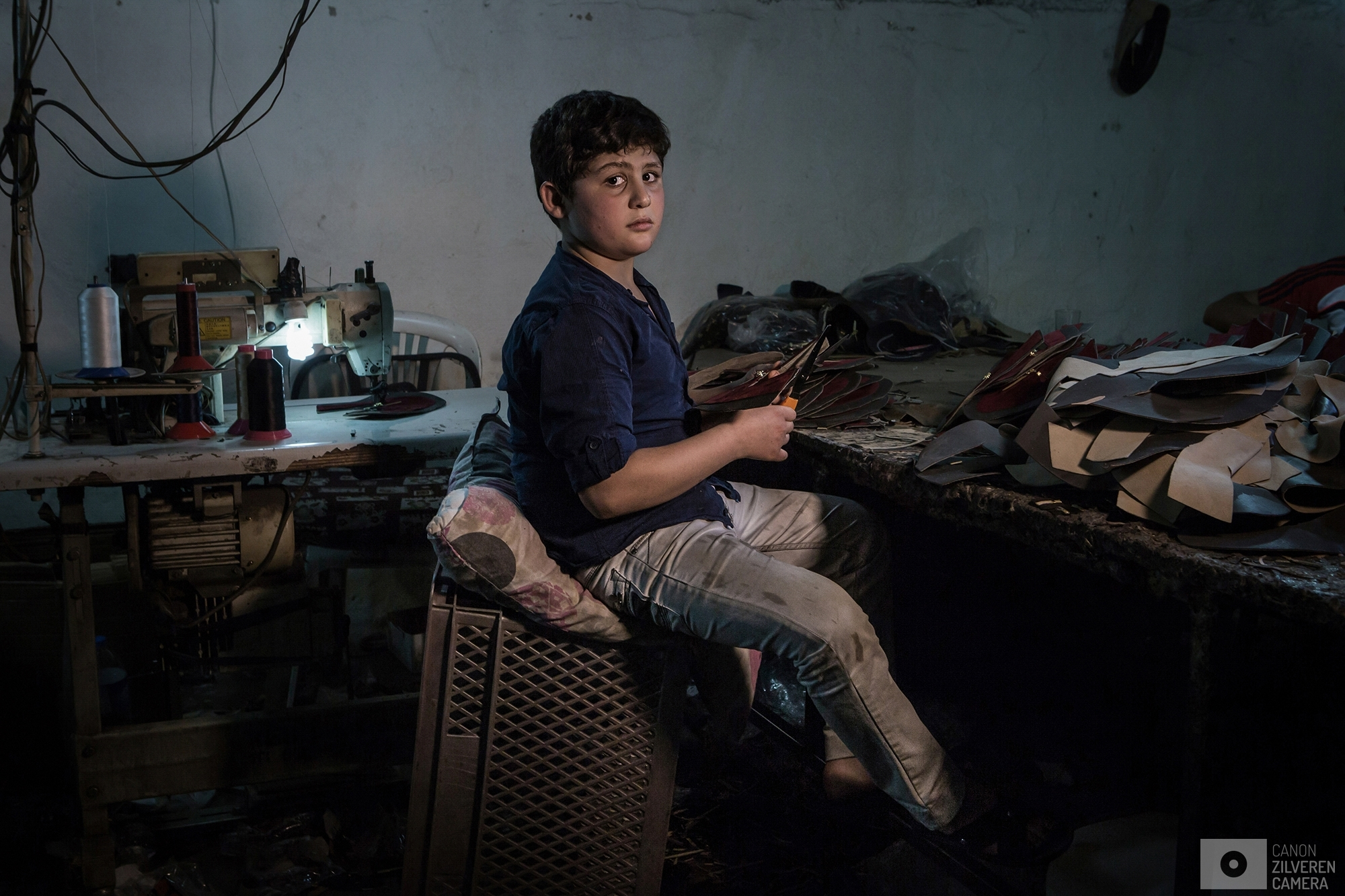 Syrian child labor