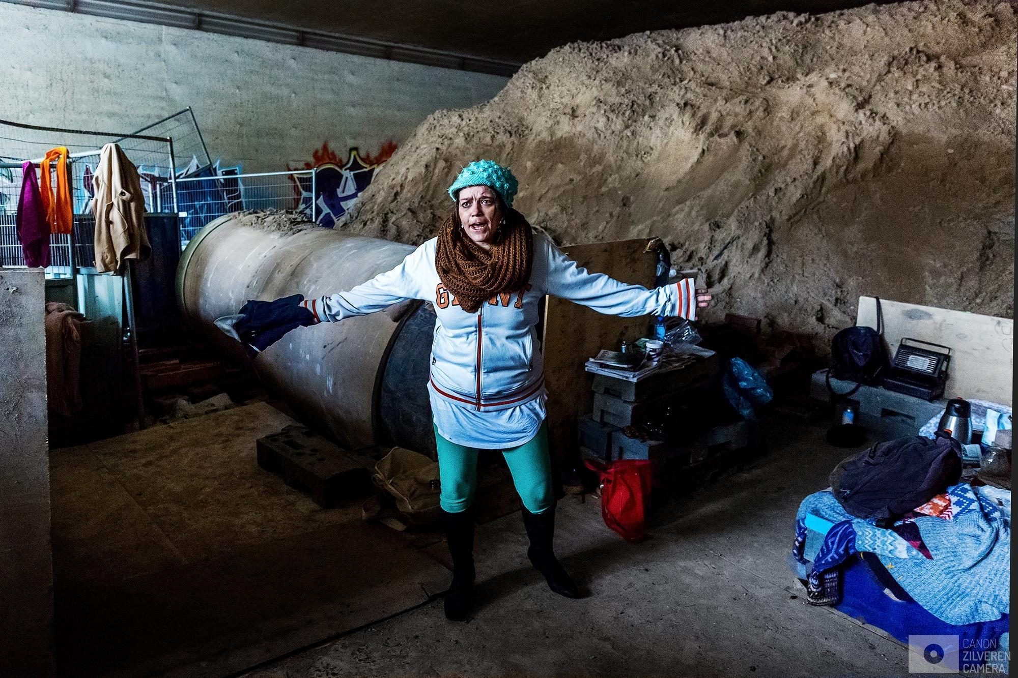 De tunnelbewoners van Nieuw Hoog Catharijne