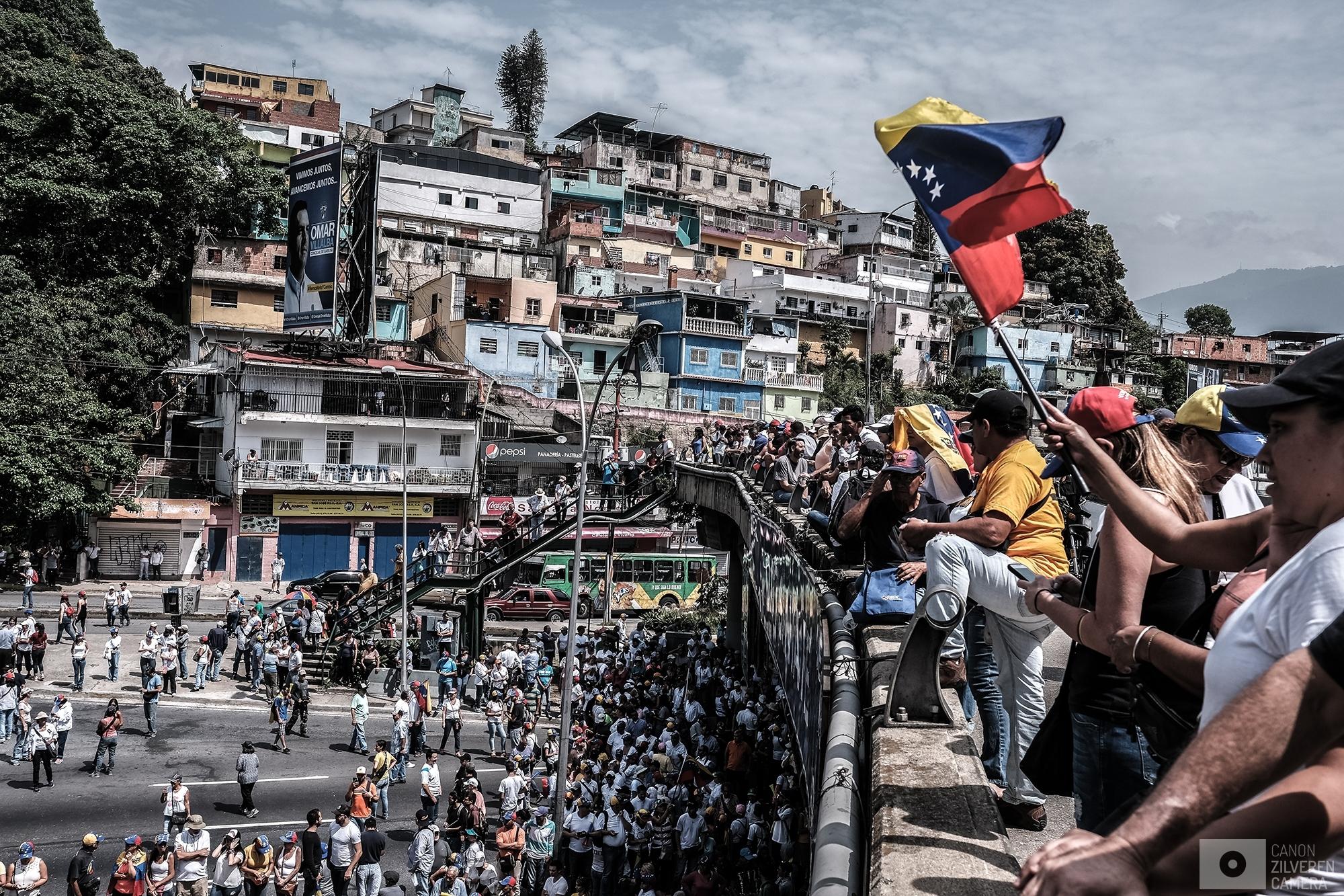 Massive protest Caracas