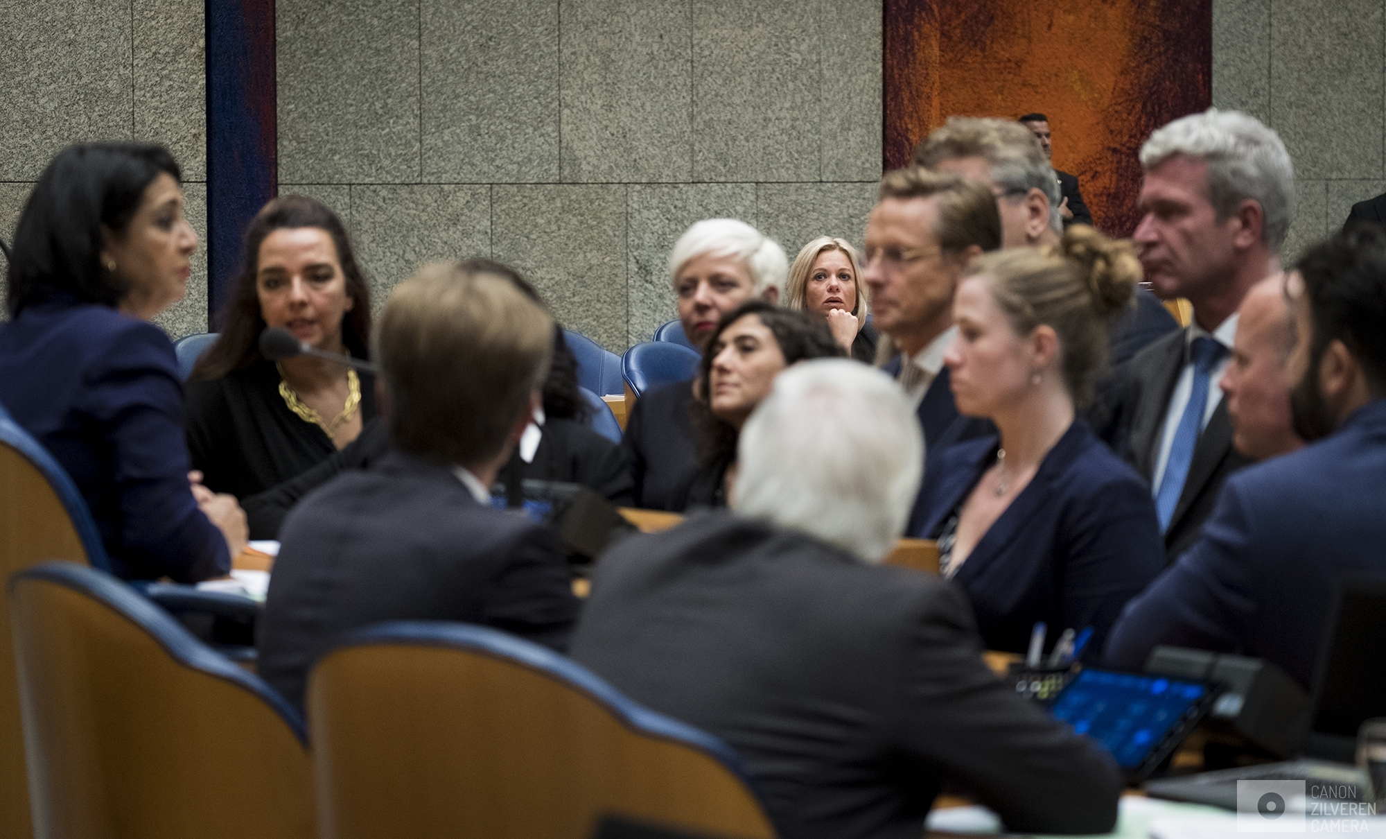 Nederland, Den Haag, 03102017- Minister van Defensie Jeanine Hennis-Plasschaert treedt af.Foto: David van Dam