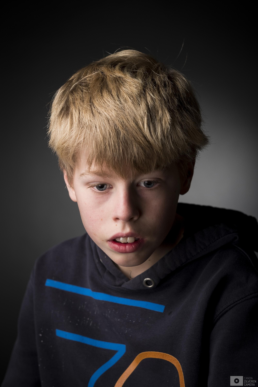 Nederland Ubbergen 21022017 - Portret Kuno Duivenvoorde, leerling op de Sint Maartenschool.Foto: David van Dam