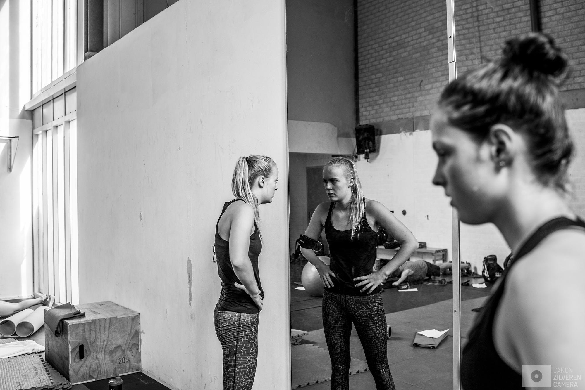 Amersfoort, Nederland, 12.05.2017Lisa Kruger en Chantalle Zijderveld