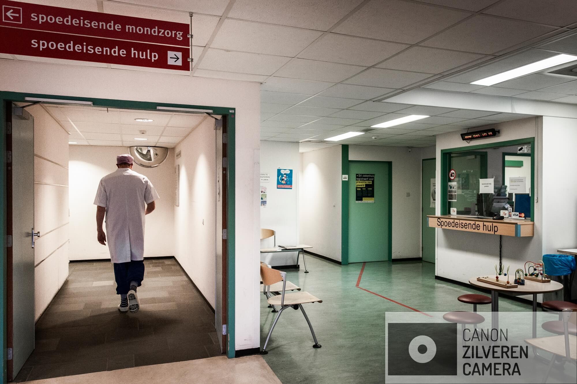 Amsterdam, 24 oktober 2018 - MC SLOTERVAART. MC Slotervaart in Amsterdam staat op het punt van een faillisement. De SEH is inmiddels gesloten, patienten worden doorverwezen naar OLVG West. Foto DIngena Mol