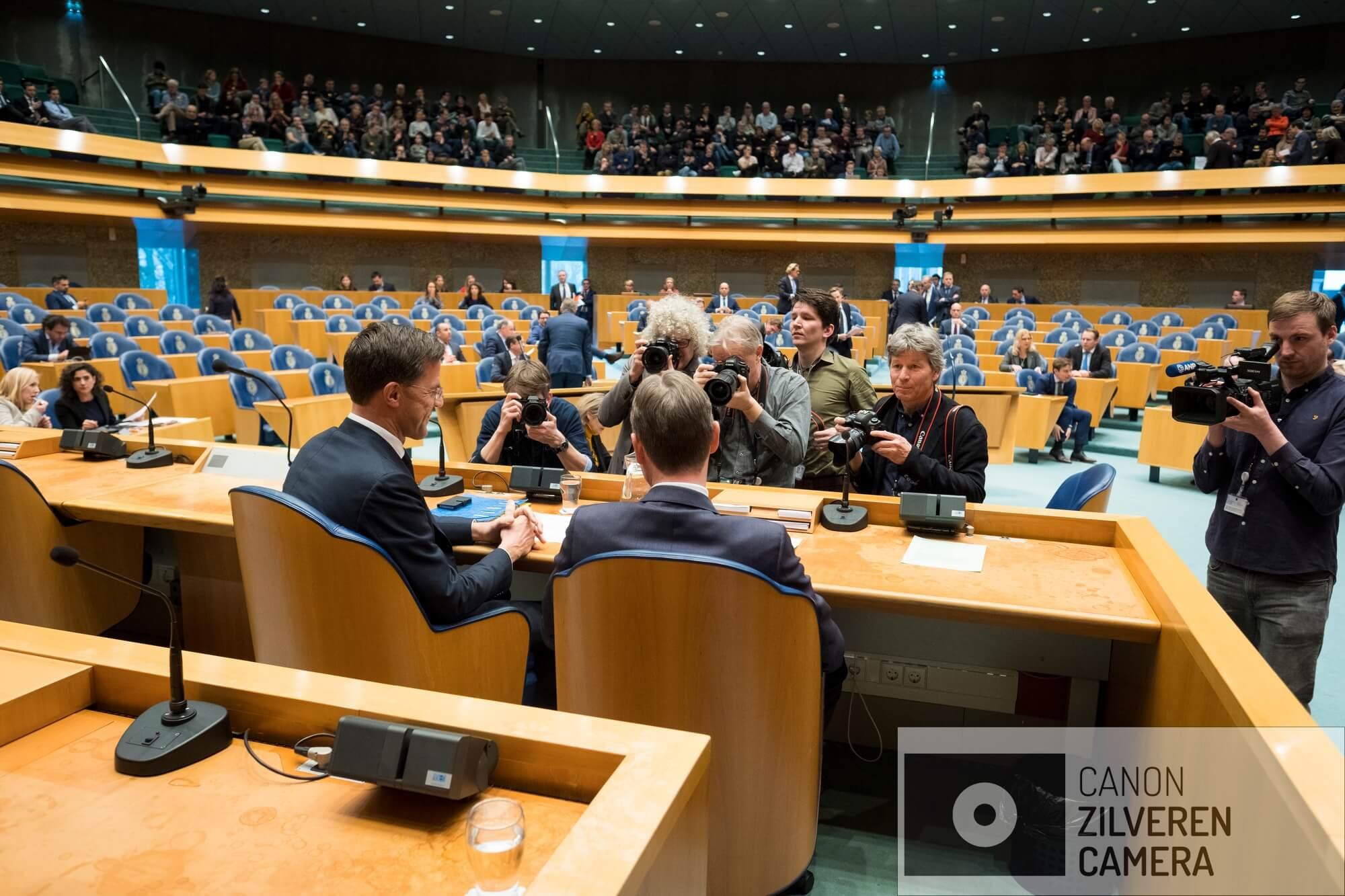 Nederland, Den Haag, 13022018 - Halbe Zijlstra treedt af als minister van Buitenlandse Zaken.
