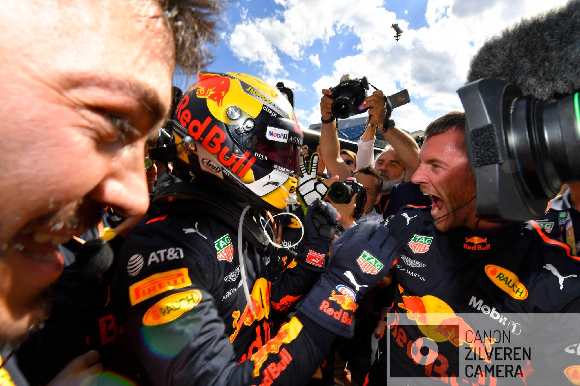 Winner of the Austrian GP, Max Verstappen (NED), #33, Red Bull Racing, Grand Prix Austria, Red Bull Ring, Spielberg, Formula1, Round 09, 2018.