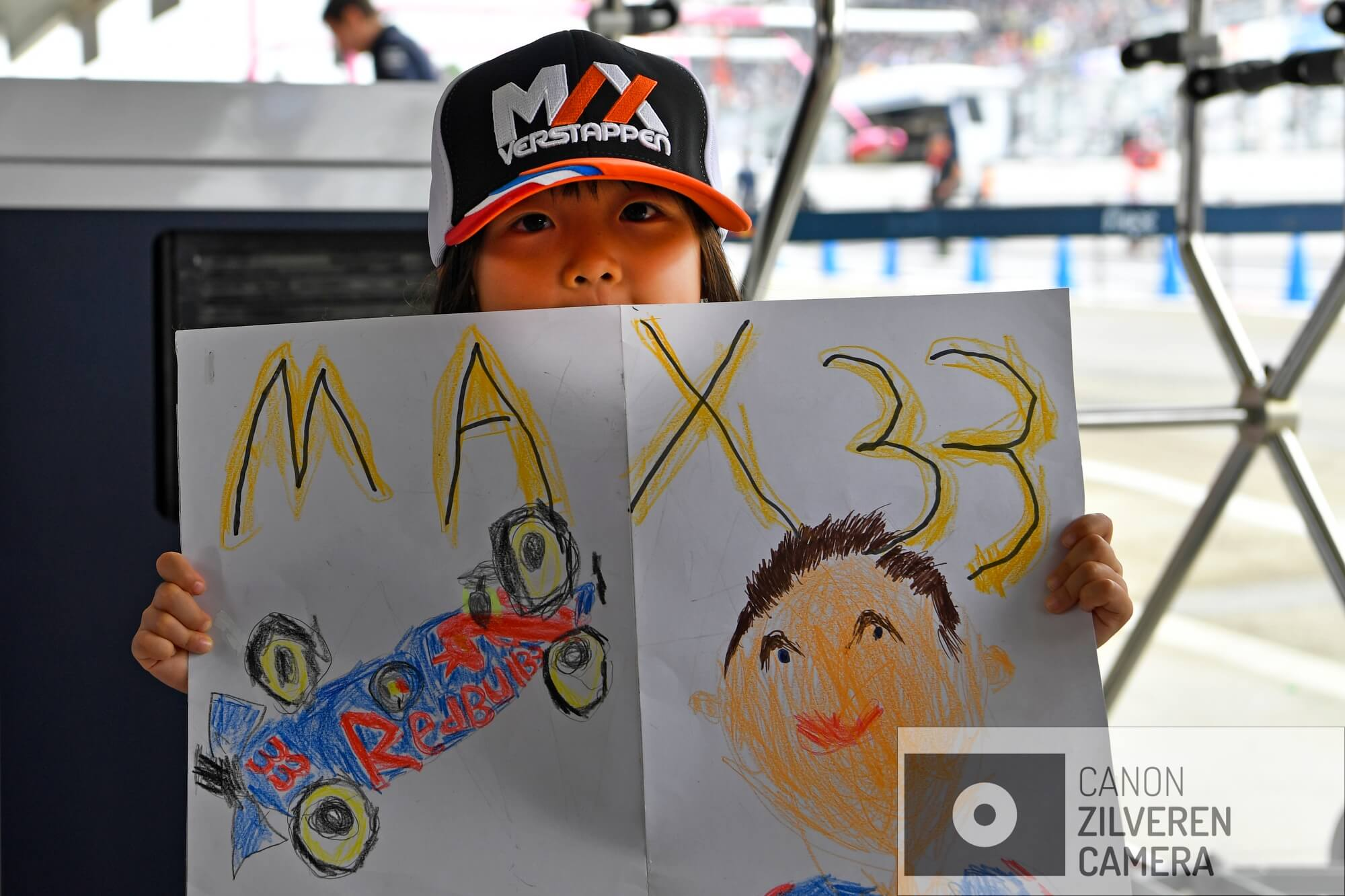 Japanese Max Verstappen  Fan, Red Bull Racing, Grand Prix Japan 2018, Formula1, Round 17, Suzuka circuit.
