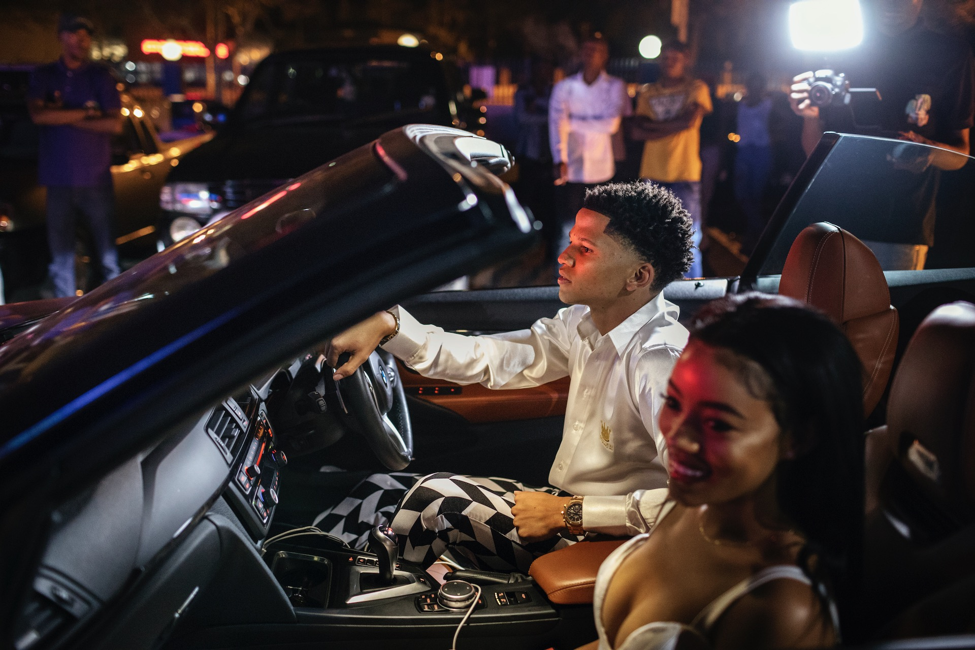 3.  Jason Noah (21) arrives at a night club in Pretoria to celebrate his 21st birthday. Jason is a foreign exchange trader, an activity that has made him millions of rands. He grew up in a middle-class family. (2018)