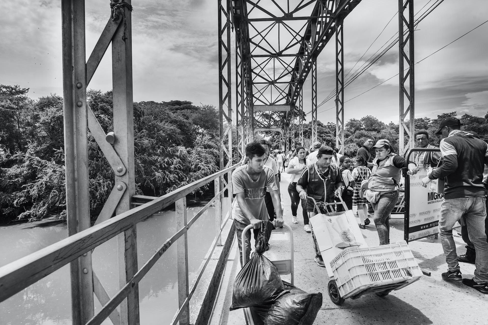 6. gevlucht naar Colombia