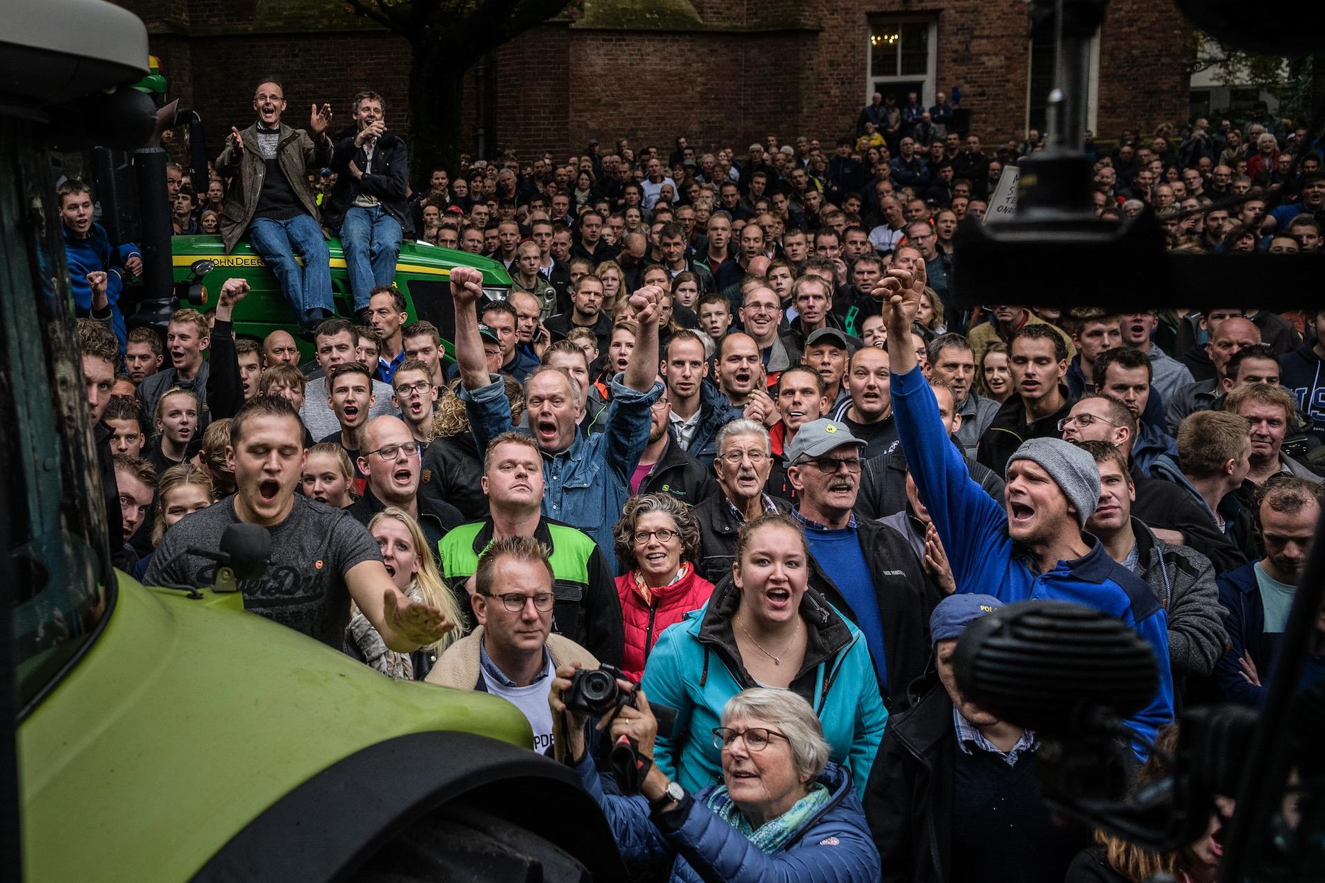 Boerenprotest Groningen